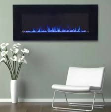 electric fireplace flame wall mount