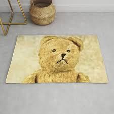 teddy bear rug by zenz society6