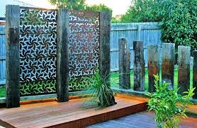 awesome garden privacy screen made from