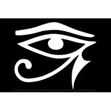 Oracal Eye Of Horus Ra Ancient Egyptian Vinyl Decal Car Wall Window Sticker Choose Size