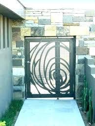 garden gate designs metal