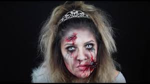 zombie princess makeup