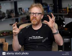 From left, Adam Savage of Discovery Channel's MythBusters at M5 ...