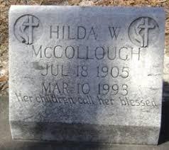 Hilda Wright McCollough (1905-1993) - Find A Grave Memorial