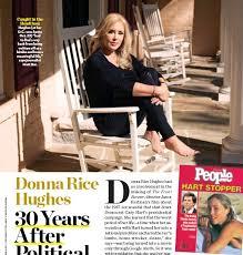 PressReader - People (USA): 2018-11-12 - Donna Rice Hughes 30 ...