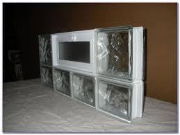 glass block window sizes home