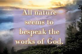 nature and god nature god mother nature