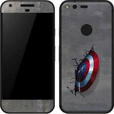 Captain America Vibranium Shield Pixel Skin Marvel