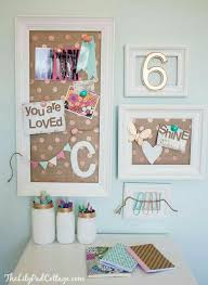Bulletin Board Inspiration Kids Desk Girls Bedroom Room Decor