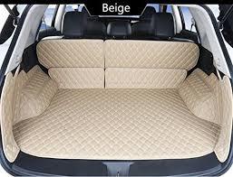 custom fit full covered trunk mats