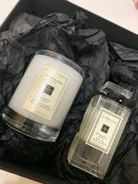 jo malone gift set candle bath oil