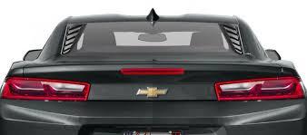 16 20 Camaro Rear Quarter Window Louvers Vicrez Vz101698