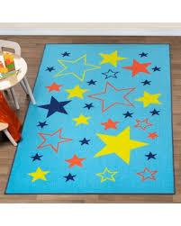 Don T Miss Sales On Miranda Haus Non Slip Ettie Kids Indoor Area Rug Grey 8 X 10 Baby Blue