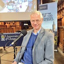"""University of Glasgow on Twitter: """"Prof Adrian Bowman (Professor of  Statistics) with the puzzle of the day 🤔 @BBCr4today - live from our  chapel. Visiting planet 'Rock On' looking for Justinite! #r4today…"""