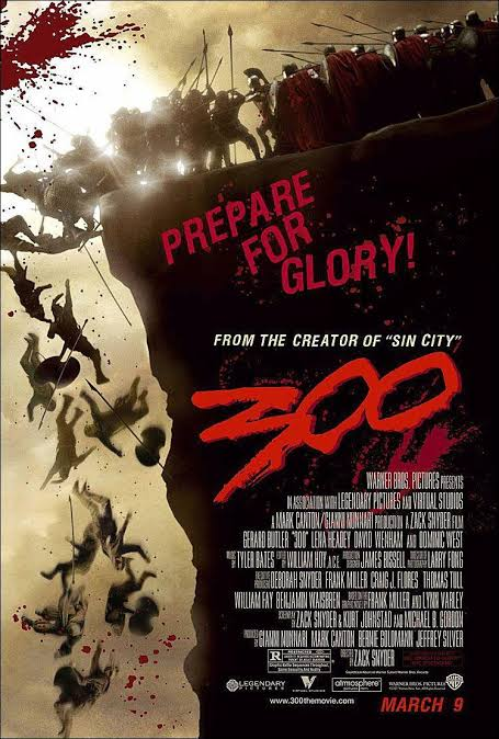 300 (2006) Unrated (Hindi + English) D5.1 DTS Dual Audio Bluray 480p 720p x264 | 1080p Hevc 10bit