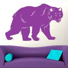 Black Bear Animal Wall Sticker Decal World Of Wall Stickers
