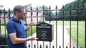 Newport Gate Mounted Post Boxes Made To Your Own Design Youtube