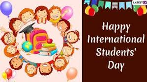 international students day wishes whatsapp stickers sms