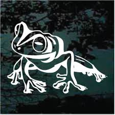 Frog Car Decals Stickers Decal Junky