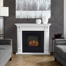 electric fireplace in white 7100e w