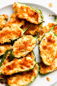 baked jalapeño poppers garnish glaze