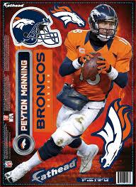 Nfl Denver Broncos Peyton Manning Fathea Buy Online In Costa Rica At Desertcart