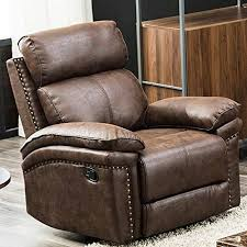 recliner couch leather sofa single sofa