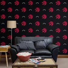 toronto raptors logo pattern black