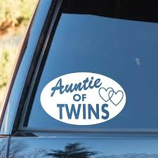 2020 16 10cm Auntie Of Twins Decal Sticker Aunt Gift Twin Cap Shirt Car Accessories Motorcycle Helmet Car Styling From Xymy777 1 69 Dhgate Com