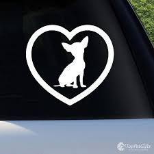 Love My Chihuahua Decal Top Pet Gifts