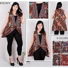 Baju batik untuk kantor wanita modern memang baju batik yang banyak di jumpai. Jual Produk Baju Rompi Batik Wanita Murah Dan Terlengkap November 2020 Bukalapak