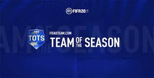fifa 20 team of the season tots