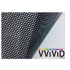 One Way Perforated Black On Black Privacy Window Decal Contact Paper Sticker Decorative Film Wrap Vvivid Choose Your Size Walmart Com Walmart Com