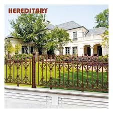 Prefab Temporary Solid Metal Pool Fence Panels On Wall Buy Metal Garden Fence Panels Prefab Iron Fence Panels Decorative Fence For Villa Product On Alibaba Com
