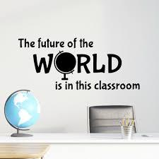 Classroom Wall Decals Vinyl Written