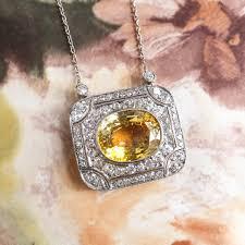 beautiful 12ct natural yellow sapphire