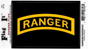 Army Ranger Logo Flag Outside Car Decal Sticker Car Decals Stickers Vinyl Decal Stickers Ranger