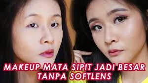 tutorial makeup mata sipit monolid