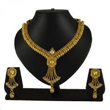 Buy Shostopper Buy 1 Enchanting Rhodium Plated Australian Diamond Necklace  Set & Get 1 Fancy Rhodium Plated Australian Diamond Necklace Set Free.  Online | Best Prices in India: Rediff Shopping