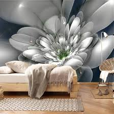 Shop Modern Fashion Creative Abstract Transparent Flower Living Room Tv Background Wall Decor Non Woven Wallpaper Custom Wall Mural Online From Best Wall Stickers Murals On Jd Com Global Site Joybuy Com