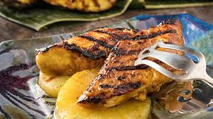 Grilled Halibut with Pineapple ...