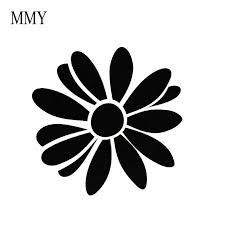 5 5 5 5 Daisy Car Decal Floral Bumper Sticker For Your Car Vinyl Decal Car Sticker Car Stickers Aliexpress