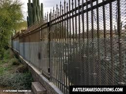 Snake Fence Archives Rattlesnake Solutions
