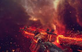 wallpaper background flame blood
