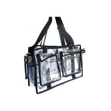 kit beauty transpa large pvc clear