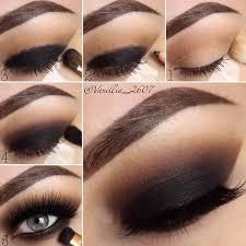 steps of smokey eye makeup cat eye makeup