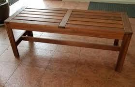 bench stool kerusi outdoor indoor