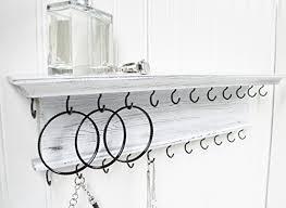 jewelry organizer necklace holder wall
