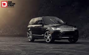 range rover wallpaper black range