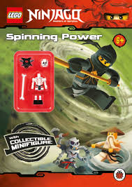 LEGO Ninjago: Spinning Power Activity Book with Minifigure ...